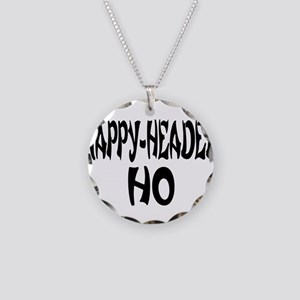Nappy Headed Ho French Design Necklace Circle Char