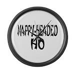 Nappy Headed Ho French Design Large Wall Clock