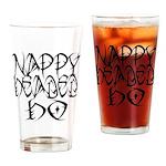 Nappy Headed Ho Tribal Design Drinking Glass