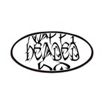 Nappy Headed Ho Tribal Design Patches