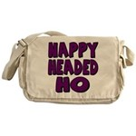 Nappy Headed Ho Purple Design Messenger Bag