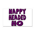 Nappy Headed Ho Purple Design Car Magnet 20 x 12