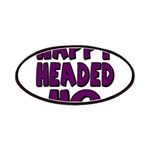Nappy Headed Ho Purple Design Patches