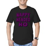 Nappy Headed Ho Purple Design Men's Fitted T-Shirt