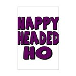 Nappy Headed Ho Purple Design Mini Poster Print