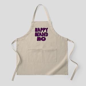 Nappy Headed Ho Purple Design Apron