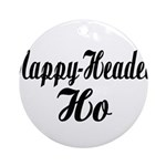 Nappy Headed Ho Fancy Design Ornament (Round)