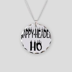 Nappy Headed Ho Nappy Design Necklace Circle Charm