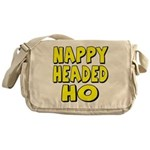 Nappy Headed Ho Yellow Design Messenger Bag