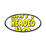 Nappy Headed Ho Yellow Design Patches