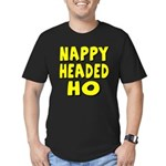 Nappy Headed Ho Yellow Design Men's Fitted T-Shirt