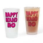 Nappy Headed Ho Pink Design Drinking Glass