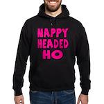 Nappy Headed Ho Pink Design Hoodie (dark)