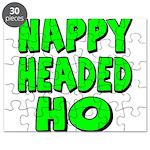 Nappy Headed Ho Green Design Puzzle
