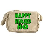 Nappy Headed Ho Green Design Messenger Bag