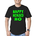 Nappy Headed Ho Green Design Men's Fitted T-Shirt