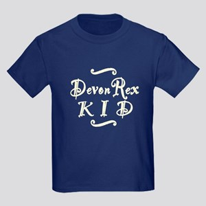 Devon Rex KID Kids Dark T-Shirt