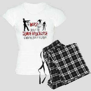 Zombie Apocalypse Waiting Women's Light Pajamas