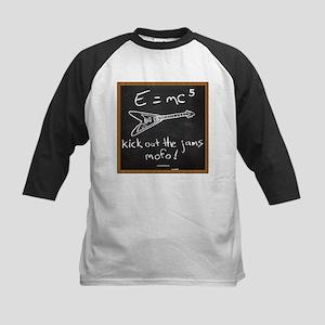 E=mc5 Kids Baseball Jersey