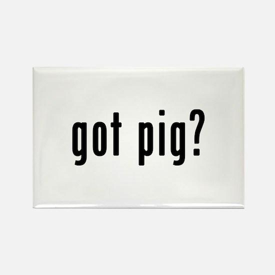GOT PIG Rectangle Magnet
