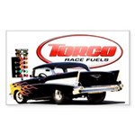 57 Chevy Dragster Sticker (Rectangle 10 pk)