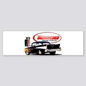 57 Chevy Dragster Sticker (Bumper)