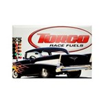 57 Chevy Dragster Rectangle Magnet (100 pack)