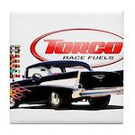 57 Chevy Dragster Tile Coaster