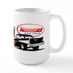 57 Chevy Dragster Large Mug