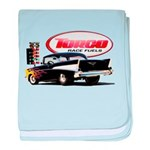 57 Chevy Dragster baby blanket