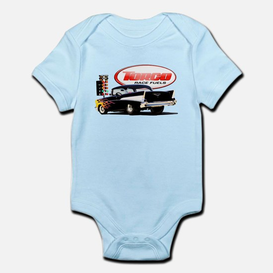 57 Chevy Dragster Infant Bodysuit