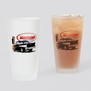 57 Chevy Dragster Drinking Glass