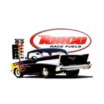 57 Chevy Dragster 38.5 x 24.5 Wall Peel