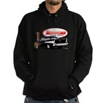 57 Chevy Dragster Hoodie (dark)