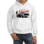 57 Chevy Dragster Hooded Sweatshirt