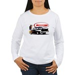 57 Chevy Dragster Women's Long Sleeve T-Shirt