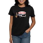 57 Chevy Dragster Women's Dark T-Shirt