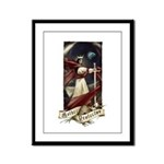 Mother Protector Framed Panel Print