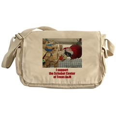 support the Schubot Center Messenger Bag