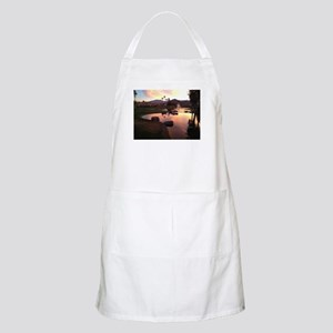 Scarlet Reflections Apron