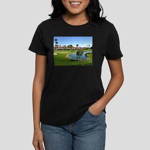 At the Turn Women's Dark T-Shirt