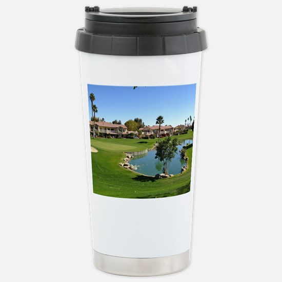At the Turn Stainless Steel Travel Mug