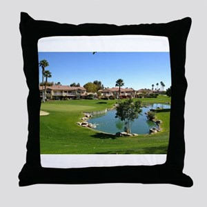 At the Turn Throw Pillow