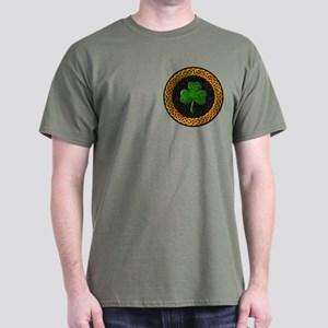 Celtic Ireland Shamrock Dark T-Shirt