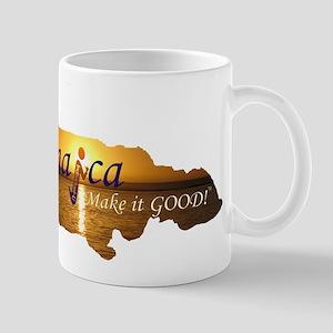 Jamaica Sunset I Make it Good Mug