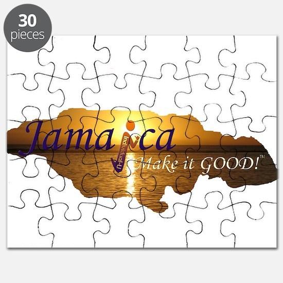 Jamaica Sunset I Make it Good Puzzle