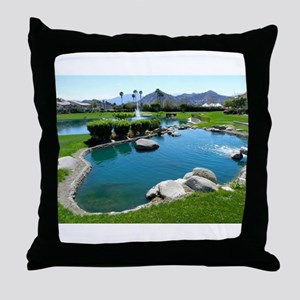 West Pond Throw Pillow