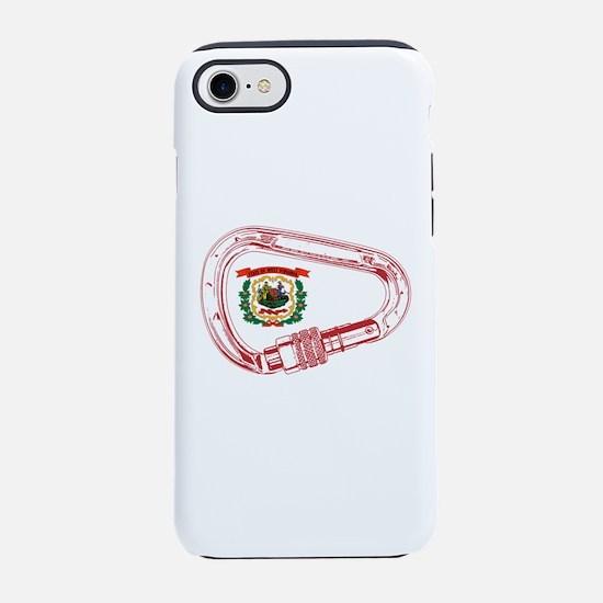 West Virginia Flag Climbing Ca iPhone 7 Tough Case