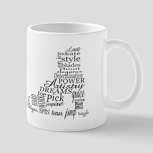 Skate Typography Mug