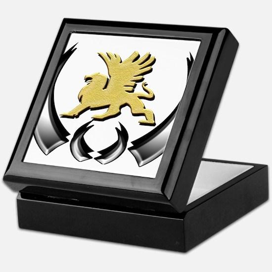 Gold Griffin Keepsake Box